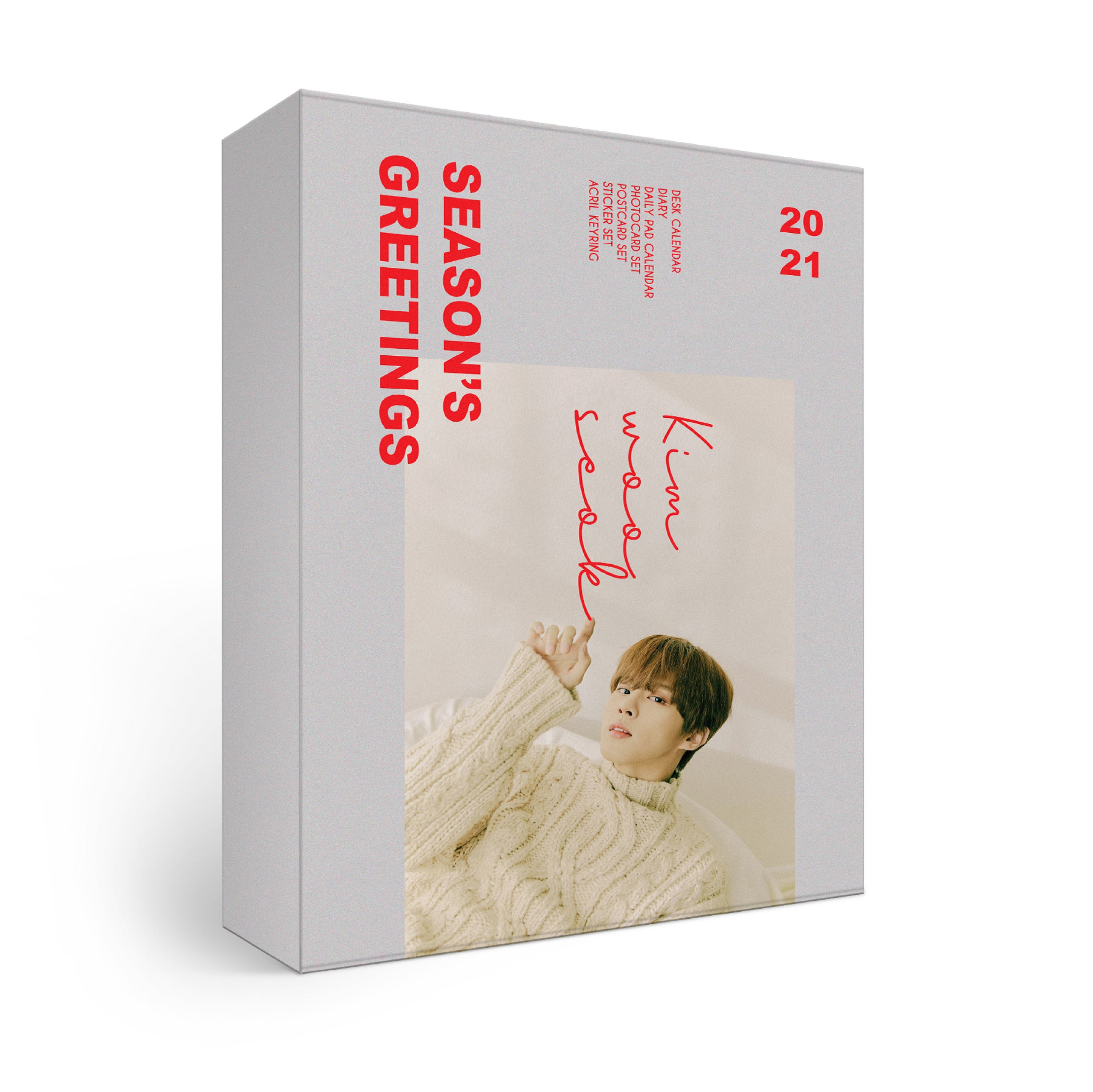 [PRE-ORDER] ★Provides KPOPSTORE Special Gift★ 金宇硕(KIM WOO SEOK) - 2021 SEASON'S GREETINGS (*No Poster)케이팝스토어(kpop store)