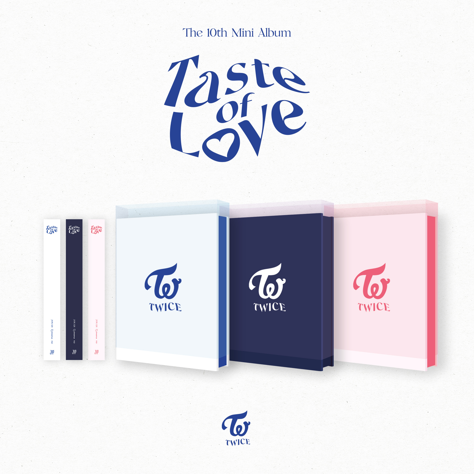 트와이스(TWICE) - 10th Mini Album [Taste of Love] (Random ver.)케이팝스토어(kpop store)