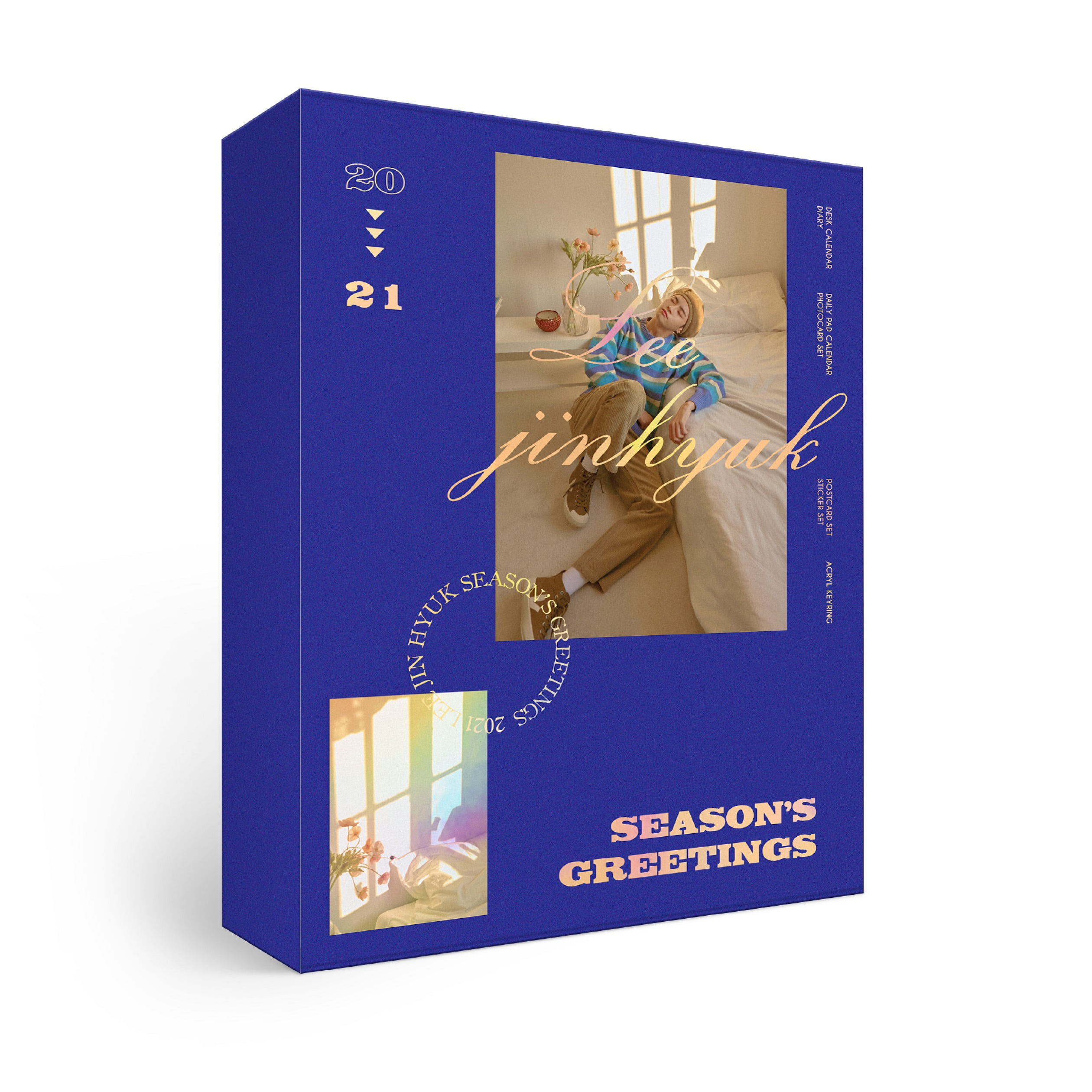 [PRE-ORDER] ★Provides KPOPSTORE Special Gift★李镇赫(LEE JIN HYUK) - 2021 SEASON'S GREETINGS (*No Poster)케이팝스토어(kpop store)