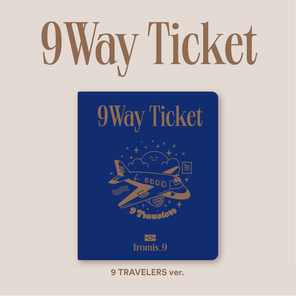 프로미스나인(fromis_9) - 2nd Single Album [9 WAY TICKET] (9 TRAVELERS ver.)케이팝스토어(kpop store)